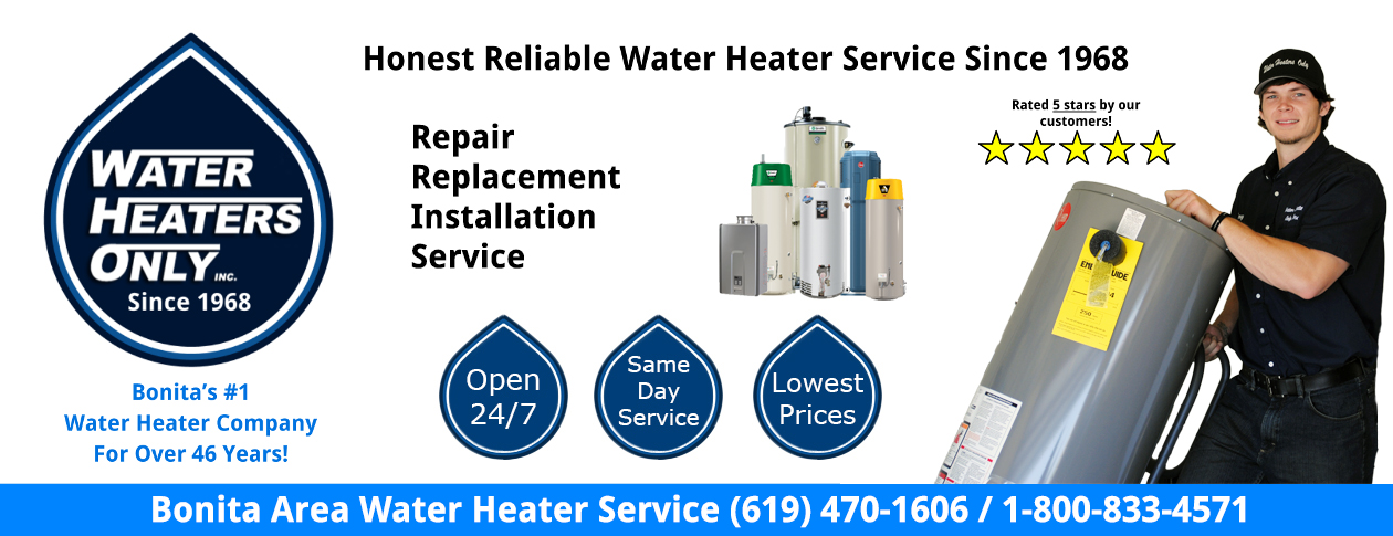 Bonita Water Heaters Only