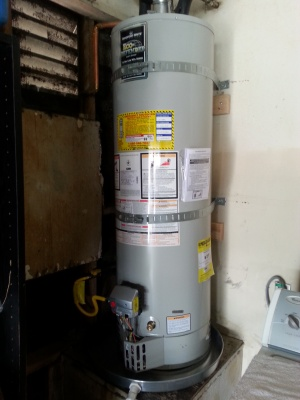 San Diego 40 gallon water heater Installation 2