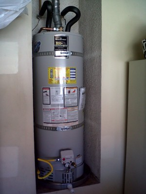 San Diego 40 gallon water heater Installation 3