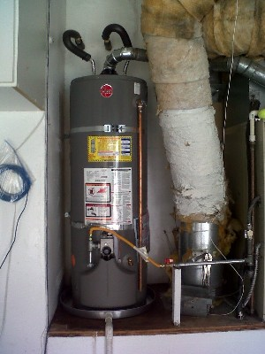 San Diego 40 gallon water heater Installation 4